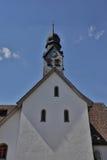 Malerisches Schweizer Kloster Stockfoto