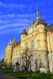 Malerisches Vajdahunyad-Schloss, Budapest stockfotos