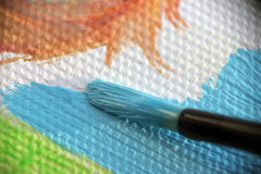 Malerpinsel. Lizenzfreies Stockbild