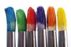 Malerpinsel stockfoto