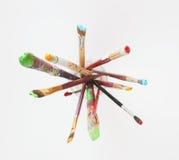 Malerpinsel-Behälter Lizenzfreie Stockfotografie