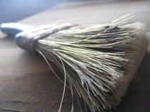 Malerpinsel-Nahaufnahme stockbild