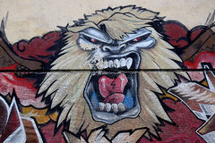 Males de ojo del grafito Imagen de archivo libre de regalías