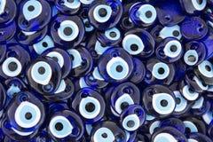 Males de ojo, recuerdo turco tradicional Foto de archivo
