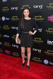 Malese Jow. LOS ANGELES - MAY 20:  Malese Jow arriving at the 2011 Young Hollywood Awards at Club Nokia at LA Live on May 20, 2011 in Los Angeles, CA Stock Image