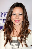 Malese Jow, Madison Pettis. LOS ANGELES - JUL 31:  Malese Jow arriving at the13th Birthday Party for Madison Pettis at Eden on July 31, 2011 in Los Angeles, CA Royalty Free Stock Image