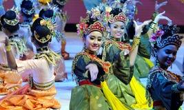 Malese Mak Yong Dance fotografia stock libera da diritti