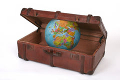 Maleta del viaje Fotografía de archivo libre de regalías
