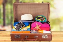 Maleta del viaje Foto de archivo libre de regalías