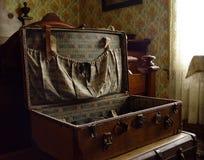 Maleta vieja Imágenes de archivo libres de regalías