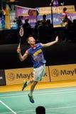 Malezja Badminton Otwarty mistrzostwo 2014 Zdjęcia Royalty Free