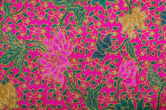 Malezja batika wzór XI. Obrazy Royalty Free