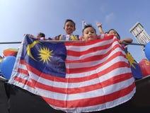 Malezja flaga, Jalur Gemilang Zdjęcie Stock