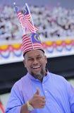 Malezja flaga, Jalur Gemilang Fotografia Royalty Free