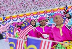 Malezja flaga, Jalur Gemilang Zdjęcia Royalty Free
