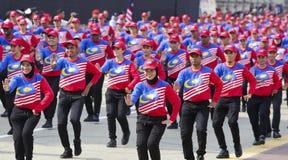Malezja flaga, Jalur Gemilang Obrazy Stock