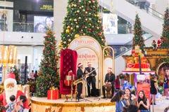 Malezja, Kuala Lumpur - 2017 Grudzień 07: Pawilon robi zakupy mal Fotografia Royalty Free