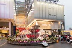 Malezja, Kuala Lumpur - 2017 Grudzień 07: Pawilon robi zakupy mal Fotografia Stock