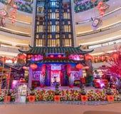 Malezja, Kuala Lumpur - 2018 Luty 05: Colourful dekoracja Zdjęcia Stock