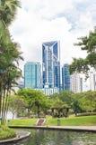 Malezja, Kuala Lumpur pejzażu miejskiego widok - 2017 Grudzień 07 - Zdjęcie Royalty Free