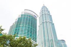 Malezja, Kuala Lumpur pejzażu miejskiego widok - 2017 Grudzień 07 - Obraz Royalty Free