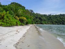 Malezja, Penang, Penang natury park - małpia plaża - zdjęcia stock
