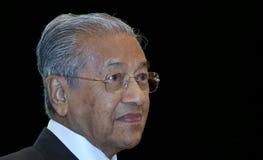 Malezja premier Mahathir Mohamad zdjęcie stock