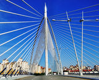 Malezyjczyka most, wzór i projekt, Zdjęcia Royalty Free