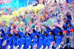 Malezyjski Święto Państwowe 2012 obraz stock