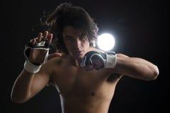 Malezyjski boksera bój Zdjęcie Stock