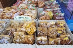 Malezyjski tradycyjny słodki jedzenie na ulicznym rynku Obraz Stock