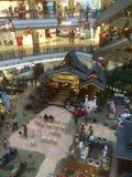 Malezyjski zakupy centrum handlowe przygotowywa dla Eid Obraz Royalty Free