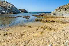 Malfatano beach in south sardinia. Teulada Royalty Free Stock Images