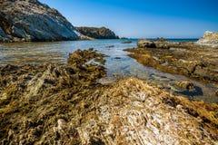 Malfatano beach in south sardinia. Teulada Royalty Free Stock Photo