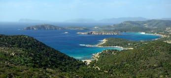malfatano capo beachs Стоковое Изображение RF