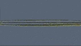 Malfuncionamiento grabado en relieve de la pantalla de Digitaces metrajes