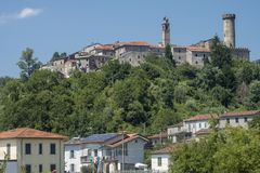 Malgrate, old village in Lunigiana. Malgrate, Lunigiana, Massa Carrara, Tuscany, Italy, view of the old typical village Stock Photo