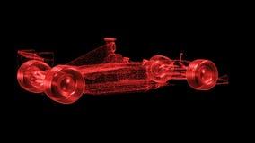 Malha do Fórmula 1 ilustração stock