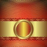 Malha do ouro ilustração stock