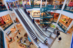 Malha Mall. In Jerusalem, Israel. One of seven built by David Azrieli, the  opened in 1993 with 260 stores and a shopping area of 37,000 m Royalty Free Stock Photo