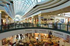 Malha Mall  in Jerusalem - Israel Stock Photo