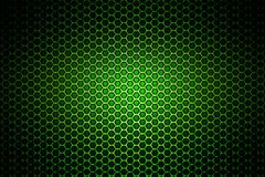 Malha metálica do cromo verde fundo e textura do metal Foto de Stock Royalty Free