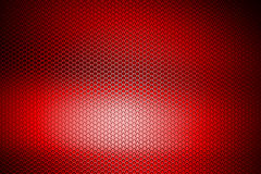 Malha metálica do cromo vermelho fundo e textura do metal Imagens de Stock