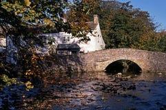 Malham Beck, Yorkshire doliny, UK. obrazy royalty free