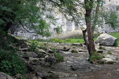 Free Malham Cove Landscape In Yorkshire Dales Royalty Free Stock Image - 75720956