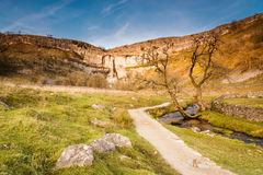 Malham Cove in Malhamdale Royalty Free Stock Images