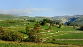 Malham Cove. From the Cove Road Royalty Free Stock Photos