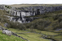 Malham Cove in spring Royalty Free Stock Photo