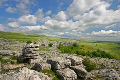 Malham Cove Royalty Free Stock Images