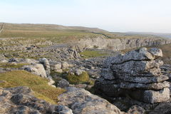 Malham Cove royalty free stock photos